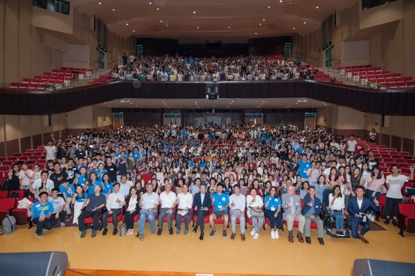 The University welcomes freshmen to the HKBU family.