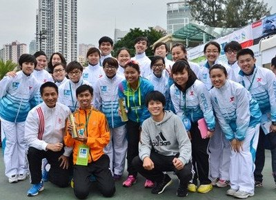 HKBU runners scoop four awards at Hong Kong marathon