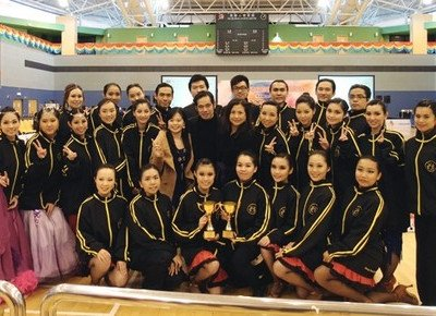 HKBU students capture 34 medals at inter-school dancesport competition