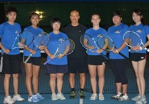 HKBU female team successfully defends championship title at inter-university tennis tournament