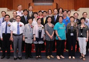 HKBU thanks retiring staff and honours outstanding non-teaching staff
