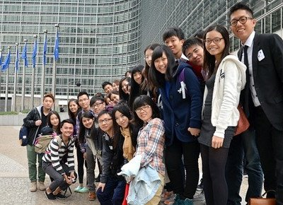 HKBU students participate in first European Union Top-up summer programme