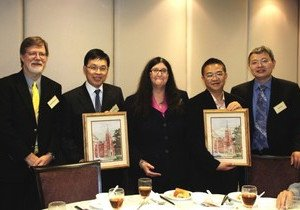 HKBU, Tsinghua University and Central Washington University discuss research collaboration in China studies