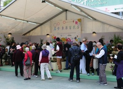 University participates in annual Hong Kong Flower Show