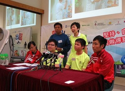 HKBU joins Kwong Wah Hospital to train obese adolescents to go for Marathon