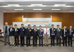 HKBU confers title of Distinguished Professor of Science on six academics to boost international collaboration