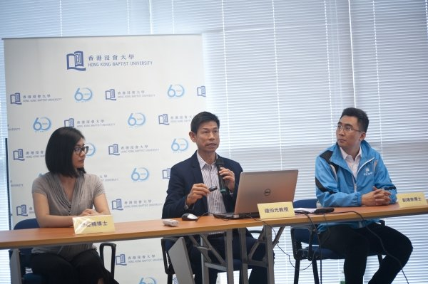 Professor Chung (middle) says that a set of functional fitness normative statistics of older adults can provide solid data to guide the development of future social policy.