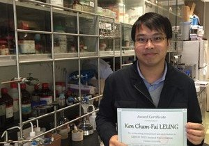 Chemistry scholar wins Materials Research Contribution Award for three consecutive years