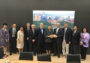 HKBU delegation visits Chulalongkorn University in Thailand