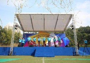 HKBU kicks off 60th Anniversary celebrations at Health Festival promoting healthy living