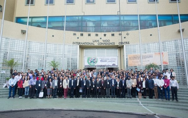 Conference participants exchange views and knowledge on integrated biotechnology topics and assess the applicability of advances in biotechnology related to waste conversion