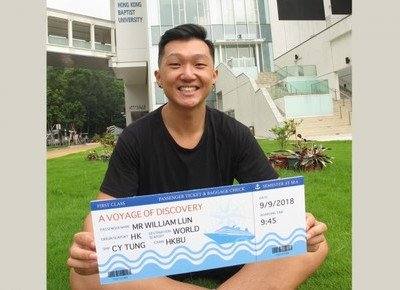 Business student, the sole HK winner of CY Tung Scholarship, to embark on voyage of sea