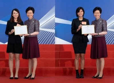 Two outstanding HKBU alumnae awarded Hong Kong Scholarship for Excellence