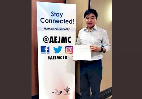 Dr Timothy Fung wins the Top Faculty Paper Award from the AEJMC