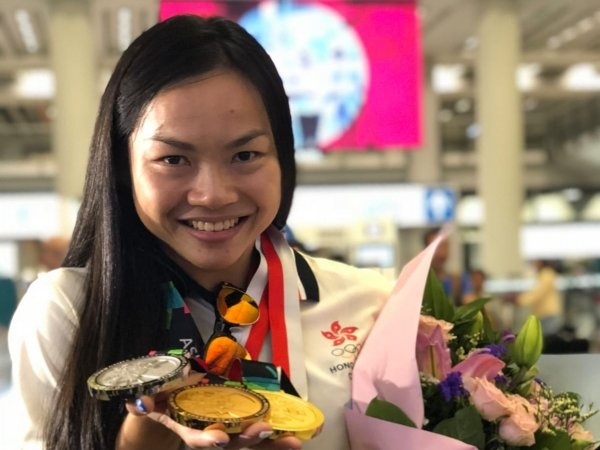 Sarah Lee wins two gold medals and one silver in Asian Games