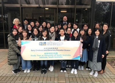 Students of early childhood education visit Australia for exchange tour