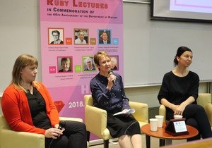 Distinguished scholar explores new insights into World History and the History of Women at HKBU lecture