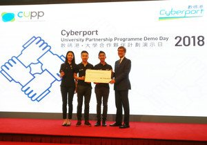 HKBU students win HK$100,000 Cyberport Creative Micro Fund