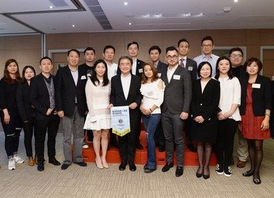 HKBU welcomes delegation from three organisations
