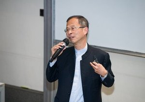 Renowned politician discusses Basic Law education at HKBU talk