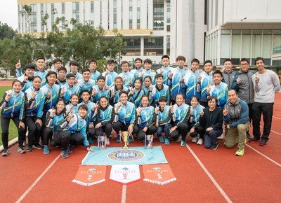 HKBU athletes make history at Intervarsity Games