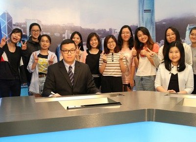 Journalism students host the Global News Relay