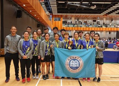 HKBU athletes win first runner-up prize at Hong Kong Annual Badminton Championships