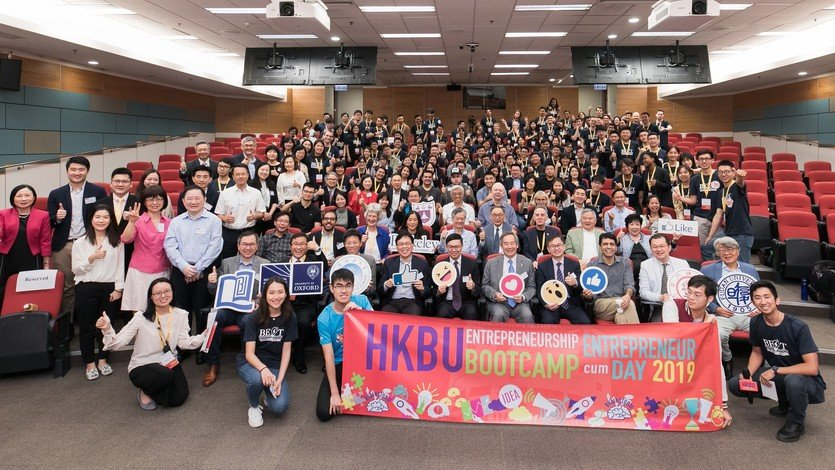 The Entrepreneurship Bootcamp attracts 100 young international participants