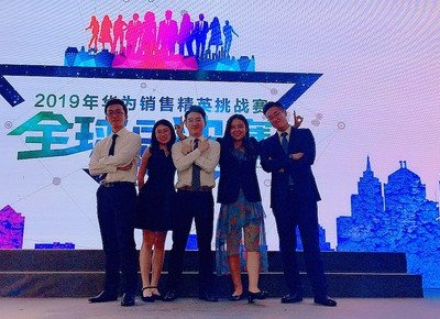 Advertising student wins Best Planner Award in Huawei sales competition
