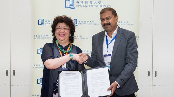 HKBU signs MoU with Marian College Kuttikkanam to promote development of teaching and learning