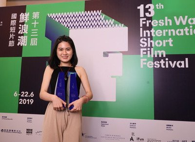Film graduate wins top prizes at Fresh Wave International Short Film Festival