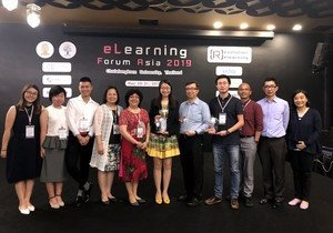 HKBU teams clinch first eLearning Forum Asia Awards