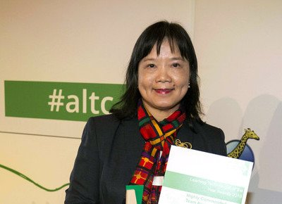 HKBU-led AIE-AR team wins award from UK's Association for Learning Technology