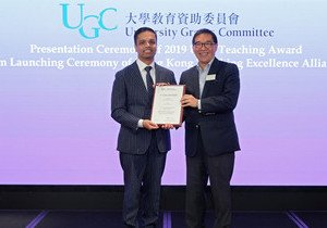 Government and International Studies scholar receives prestigious UGC Teaching Award