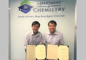 HKBU chemists win overseas lectureship award