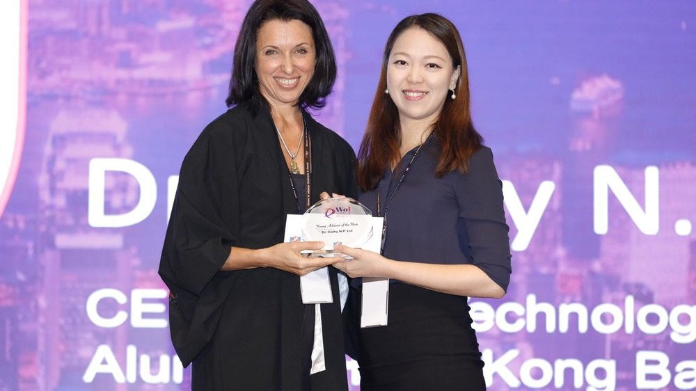 Biology alumna receives two women entrepreneur awards