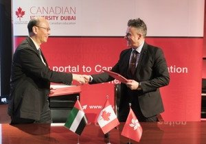 School of Communication establishes new global partnerships with Canadian University Dubai and DeTao Masters Academy