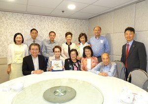 HKBU receives donation from Mrs Lee Siu-lun to set up scholarship