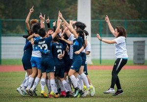 HKBU Women's Soccer Team wins intercollegiate competition