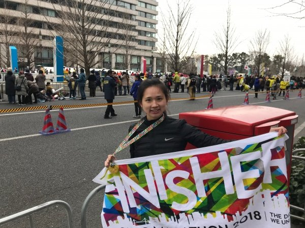Crystal ranks first in full marathon female category of Tokyo Marathon