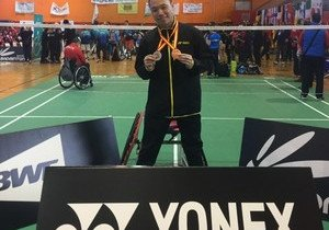 Physical Education student shines at international para-badminton competition