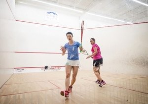 Physical Education student shines at international squash competition