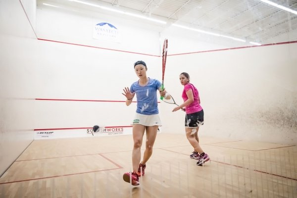 Joey Chan (left) claims silver in Salt Lake City Open