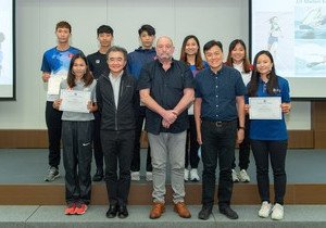 Seven elite student athletes embark on their studies at HKBU