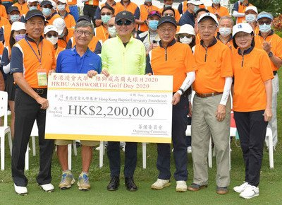 HKBU's annual Golf Day raises over HK$2 million for University's advancement