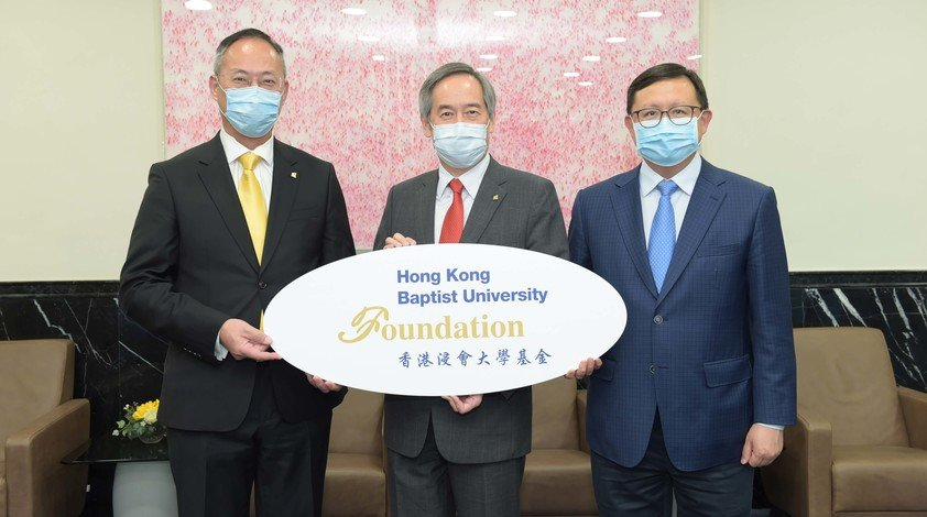 (From left) Professor Alexander Wai, Dr Clement Chen and Dr Kennedy Wong