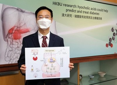 HKBU-led research reveals hyocholic acids are promising agents for diabetes prediction and treatment
