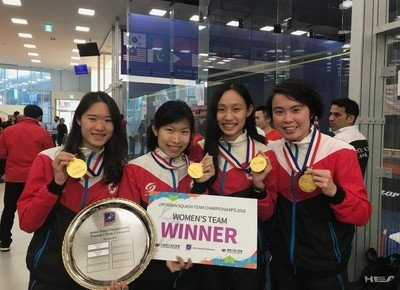 Physical Education student wins Asian squash competition
