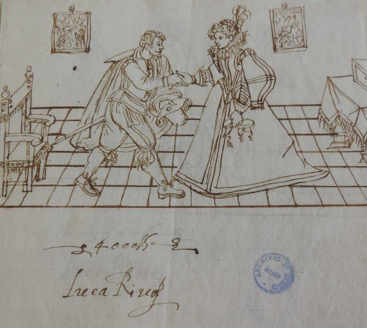 Luca Riva, Bequest to his wife Laura Farina, 1624