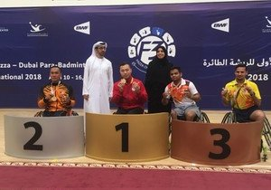 Physical Education student wins two gold medals at international para-badminton competition